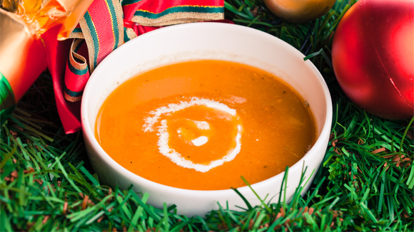Spiced Roast Pepper Soup