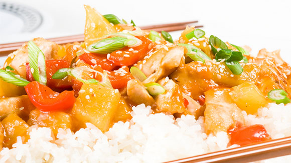 Vegetable Chopsuey Rice