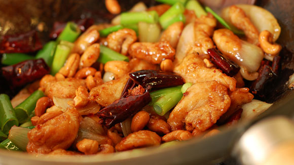 Chilli Chicken with Cashew Nuts