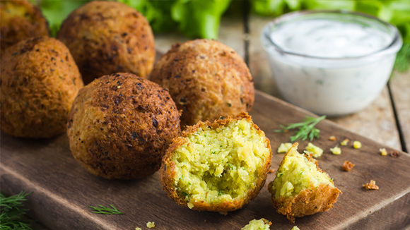 Green Chilli Falafel