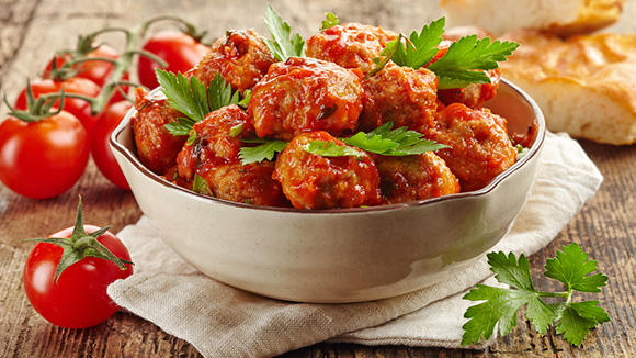 Gingery Chicken Meatballs