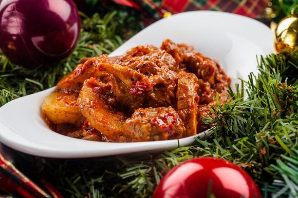 Lamb Stew with Chili Sauce