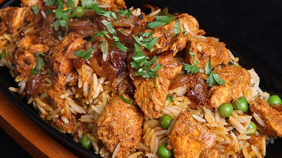 Chicken Masalaydar Biryani
