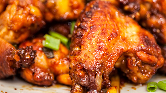 Sautéed Chilli Chicken Wings
