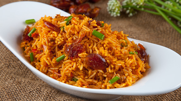 Sweet and Spicy Date Rice