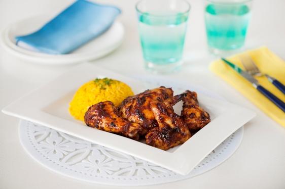 BBQ Chicken pieces