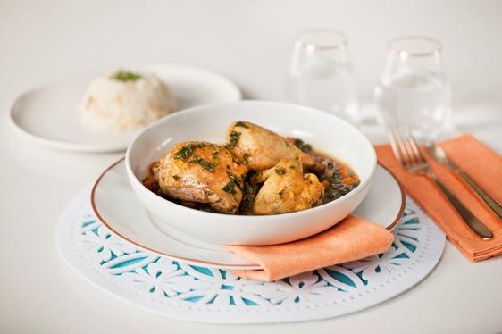 Chicken, Carrot & Kale Stew