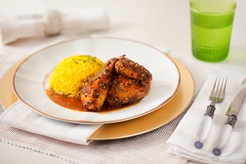 Honey and Lemon Marinated Chicken