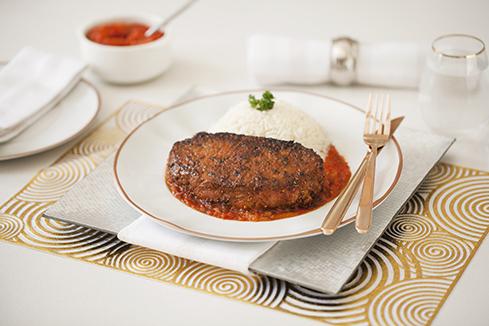 Peri peri steak and onions