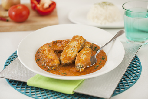 Thai fish with rice