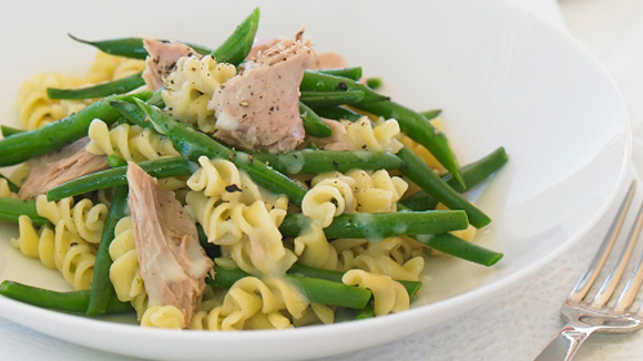 Tuna & Green Beans with Sour Cream