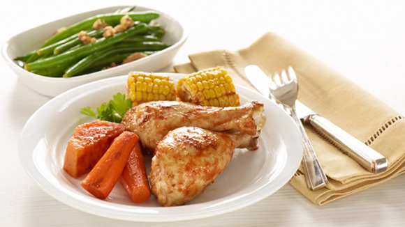 Search our simple recipes learn more roast chicken drumstick with sweet potato forumfinder Images