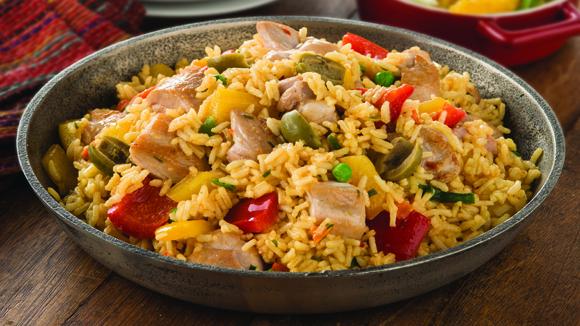 Rice Spanish Dishes Spanish Rice Recipe With
