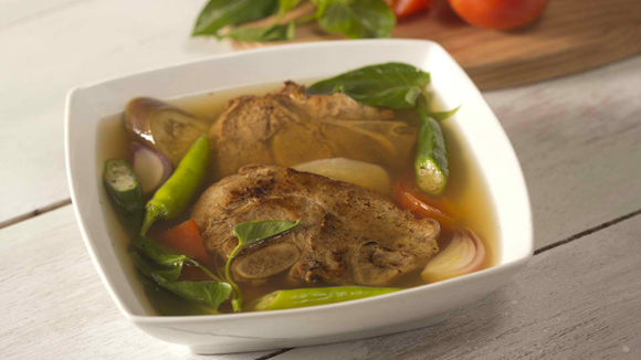 Sinigang na Pork Chops Recipe