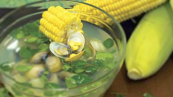 Simple Suam na Tulya't Malunggay Recipe