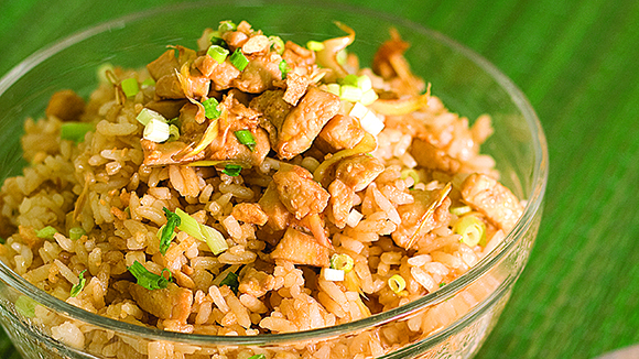 Easy Adobo Rice Recipe