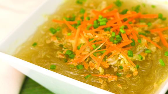 Tasty Meatless Sotanghon Soup Recipe