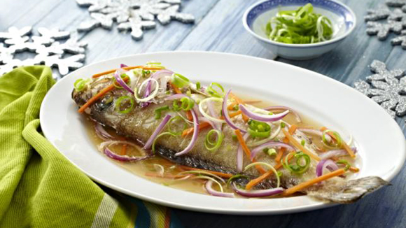 Steamed Lapu Lapu Recipe In Soy Sesame Sauce moreover Cheesy Cream Dory Casserole Recipe likewise Product Review Organic Root Stimulator 15 likewise Spring Vegetable Risotto together with Chicken Pastel Recipe. on ors carrot oil ingredients