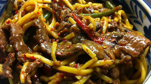 Beef and Chili Noodles