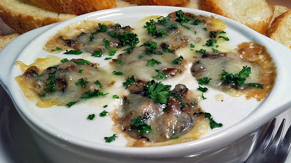 Cream of Escargots Soup