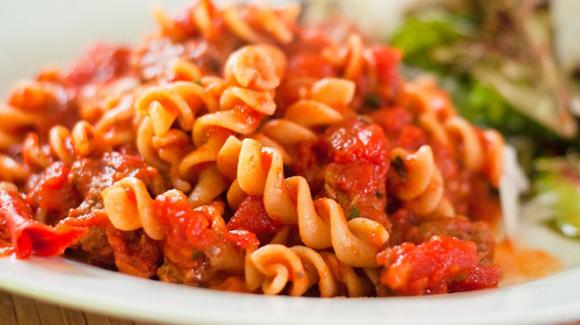Ketchup Pasta