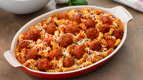 Pasta with Meat Ball