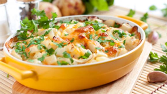 Potato & Macaronni Pie