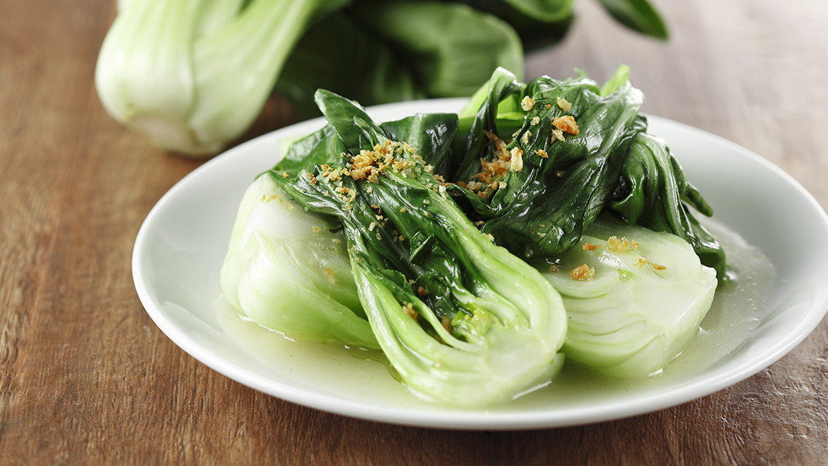 Stir Fried Garlic Bok Choy
