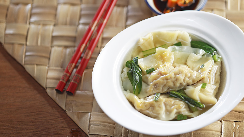 Wanton Dumplings Soup