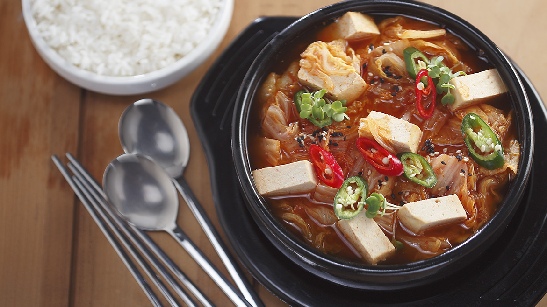 Kimchi Chicken Soup