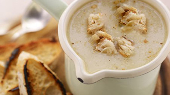 Creamy Garlic Soup