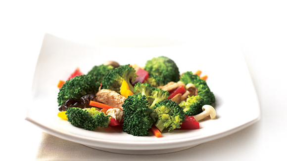 Stir-Fry Broccoli with Chicken
