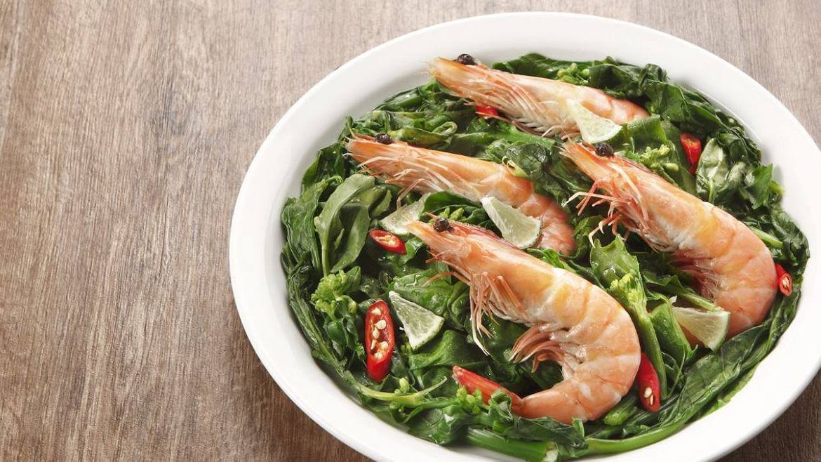 STIR FRIED CITRUS PRAWN