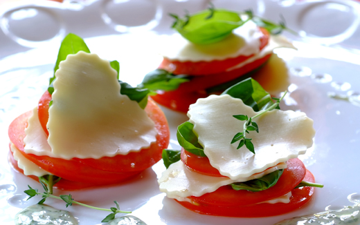 Home Recipes Mini caprese salads