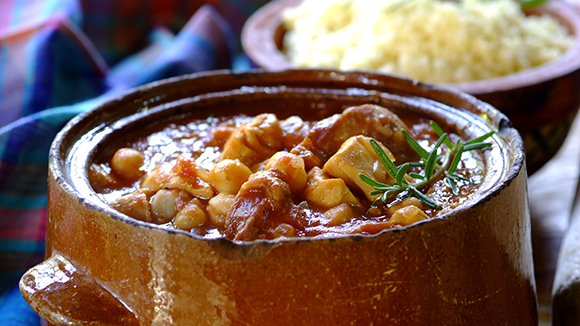 Home Recipes Chicken, Chickpeas and Chorizo Stew