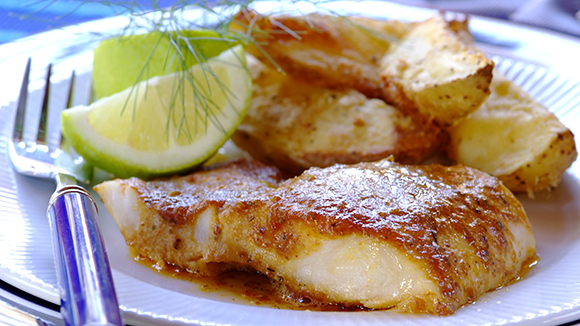 Delicious Oven-Baked Fish and Chips