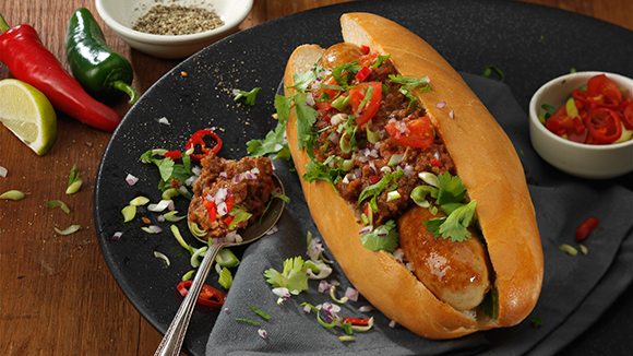 Chilli Hot Dogs