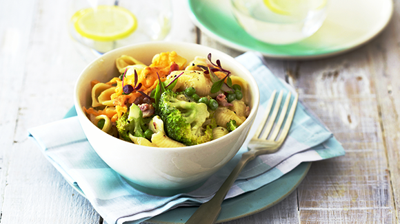 Broccoli and Bacon Pasta Bake