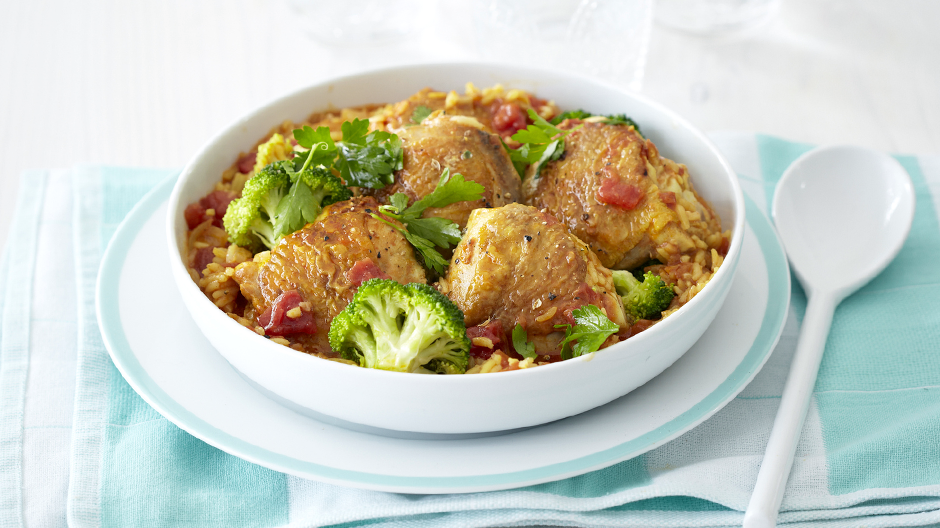 Chicken, Broccoli and Rice Stew
