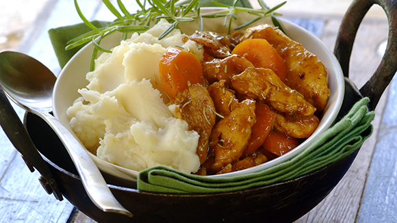 Chicken Fillet, Bacon and Rosemary Stew