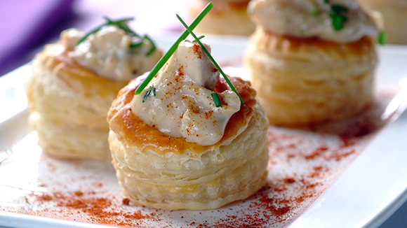 Chicken and Herb Vol-au-Vents