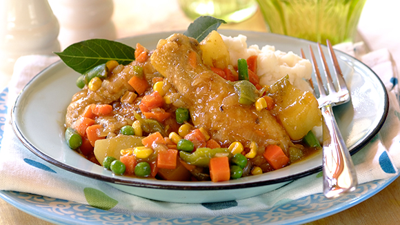 Chicken Vegetable Stew Recipe — Dishmaps