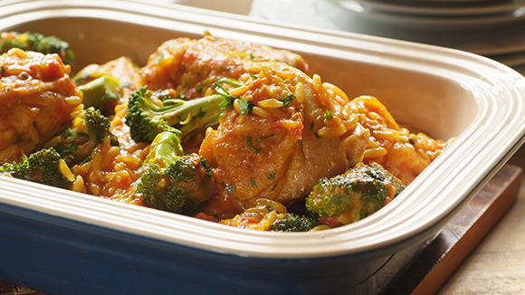 Home Recipes Chicken, Broccoli and Rice Stew