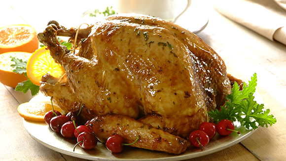 Home Recipes Citrus and herb roasted turkey