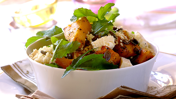 Couscous with Roast Butternut and Sage