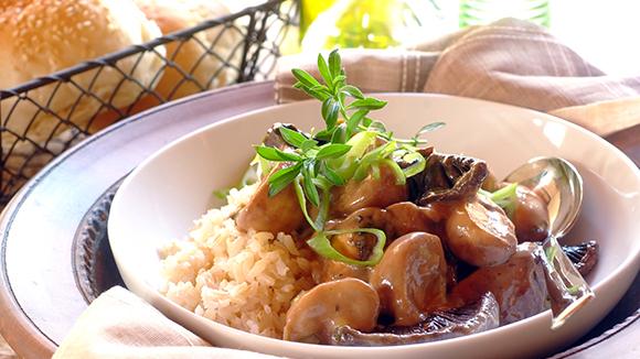 Creamy Mushroom Stroganoff Recipe — Dishmaps