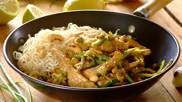 Crunchy Chicken Stir-Fry