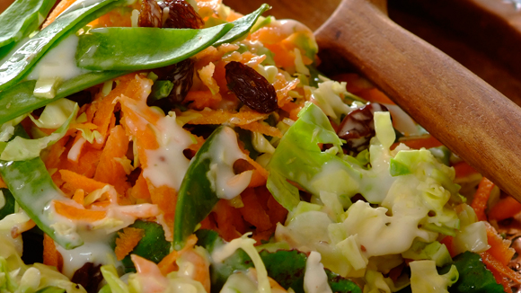 Crunchy, Tangy Coleslaw