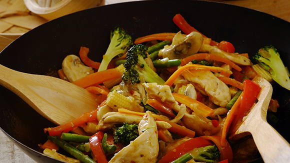 Fragrant Thai Chicken Stir-Fry