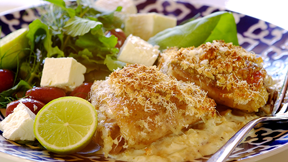 Greek Lemon Chicken Cooked in a Bag